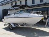 Outboard Sport Motor Boat Low Maintanance Moulded Cabin Linning Boat