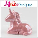 New Year Present Ceramic Unicorn Shapes Money Saving Box