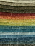 Upholstery Polyester Textile Linen Woven Decorative Cushion Sofa Fabric (HD5132029)