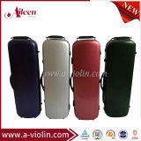 Colorful Oblong Shape Hard Violin Case (CSV-P608/CSV-P608-LK1)