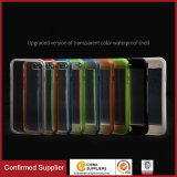New Ultra Thin Colored Transparent Waterproof Protection Cover for iPhone