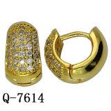 Fashion Hoop Earrings Copper Jewelry Factory Wholesale
