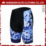 Mens Cheap Custom Sublimation Printing Cycling Pants Blue (ELTCSI-29)