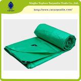 Waterproof Orange Blue Poly Tarpaulin / PE Tarps Car Plastic Sheet