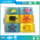 N Atural Handmade Embed Aminimal Toy Soap (WW-S-011)