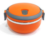 Round Shape Stainless Steel Keep Warm Lunch Box/Food Container