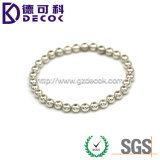 6mm 8mm 10mm Gold Plated Bead with Hole for Fashion Jewelry