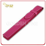 High Quality Hot Stamped PU Leather Pen Case
