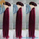 Factory Offer Virgin Remy Hair Pre Bonded Human Hair