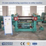 Two Roll Rubber Mixing Machine with Stock Blender