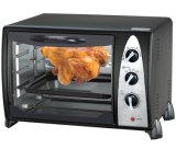 Electric Toaster Oven 34L White or Black Powder Coating Body