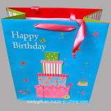 3D Happy Birthday Printing Paper Gift Bag