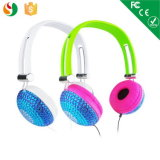 Professional Diamond Bling Style Headphone for Girls and Kids