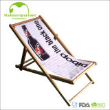 Solid Pine Wooden Beach Chair