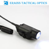 Tactical Compact CREE Q5 220 Lumens Pistol Weapon LED Light/ Flashlight with Pressure Pad Switch (ES-LS-2HY02I)