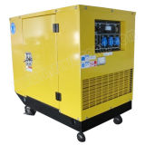 10.5kw Small Portable Soundproof Gasoline Generator with CE/CIQ/ISO/Soncap