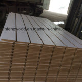 Titanium White MDF with 7 Grooves Slot