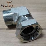 CNC Precision Machining Brass Compression Fitting for PE Pipe