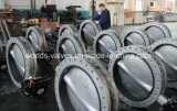 Center Line Stainless Steel U Section Flanged Butterfly Valve (D41X-10/16)