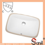 Good Sale Rectangular Ceramic Bathroom Sink (SN014)