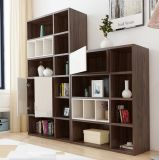 New Design Bookcase with Door and Drawer