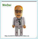 Doctor Shape USB Pen Drive Memory Disk (WY-PL81)