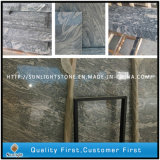 Polished White China Juparana/Sand Wave Granite Tiles for Flooring/Wall