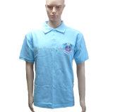 Men Golf Blue Polo Shirt for Bulk Order