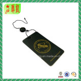 Custom Printed Paper Material Hang Tag with Gold Logo
