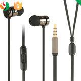 Mobile Phone Headset Metal Earphones with Mic