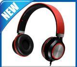 Adjustable Circumaural Over Ear Round Earphone Headphone Wholesale