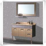 Luxury Stainless Cabinet with Mirror