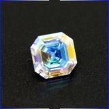 Rainbow Ab Coated Color Trillion Marquise Cut CZ Asscher Cut Cubic Zirconia Loose Stone