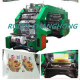 CE Standard Four-Color Flexography Printing Machine