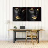 Wall Art Decor Gold Foil Picture