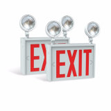 Wall or Ceiling Surface Mounted Exit Letter 9 Watt LED Emergency Sign Lamp