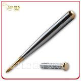 Custom Baseball Bat Shape Dual Plated Metal Ball Point Pen