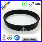 Cheap Custom Printed Silicone Bracelets for Weding Party