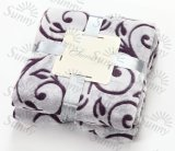 Blanket / Polyester Embossed Flannel Fleece Blanket