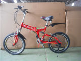 Strong Plastic Pedal Folding Bicycle with V Brake (AOKFB008)
