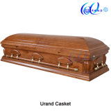 Mahogany Veneer MDF Wholesale Best Seller Casket and Coffin