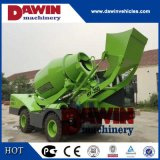 1.5m3 Auto Self Loading Concrete Mixer Truck with PLC Weighing System