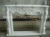 China New Classical Particularly White Marble Fireplace