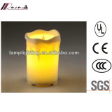 Modern Simple LED Candle Lamp for Hotel Project