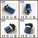 20A Lw26-20 3p Hot Selling Cheap Salzer 3 Position Rotary Cam Switch