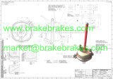 Brake Chamber T16/Kn36016 for Mercedes-Benz Spare Parts/Truck Brake Part