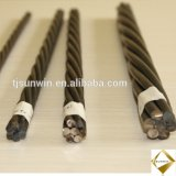 9.53mm 12.7mm 15.24mm PC Strand Building Materials