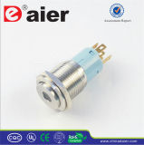 DOT LED Stainless Steel Push Button Switch (LAS3-16H-11D)