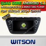 Witson Android 5.1 Car DVD GPS for Suzuki 2014 Cross with Chipset 1080P 16g ROM WiFi 3G Internet DVR Support (A5536)