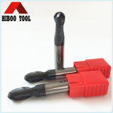 Hiboo Carbide Ball Nose End Mills with HRC55 Quality